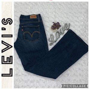 Levi's • 524 Bootcut Jeans • 7